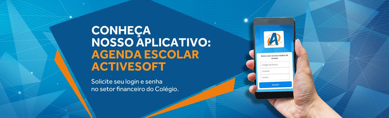 Conheça Nosso Aplicativo -  Agenda Escolar Activesoft